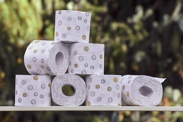 Carta igienica biodegradabile e idrosolubile